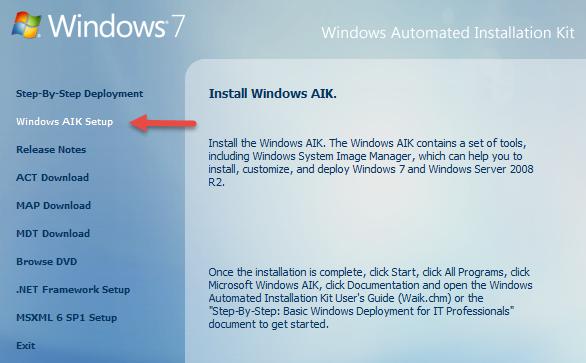 installer iso windows